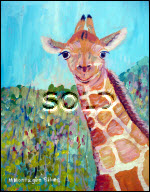 Giraffe small sold